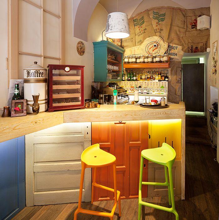 Colaj Cafe In Brasov. Shop Interior DesignInterior IdeasCafe ...