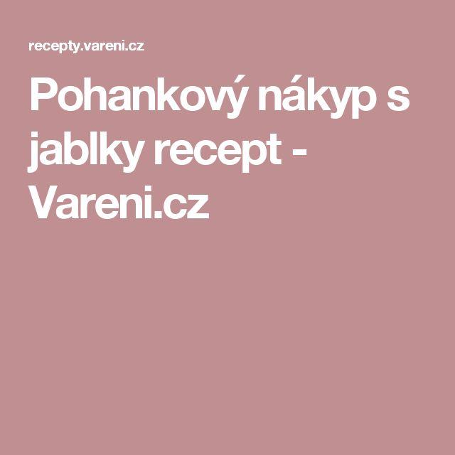 Pohankový nákyp s jablky recept - Vareni.cz