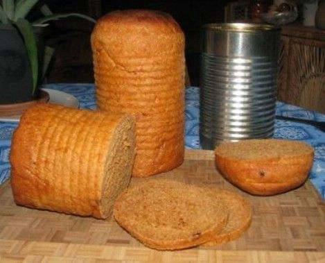 Tin Can Sandwich Bread Recipe – Top 33 Most Creative Camping DIY Projects and Clever Ideas