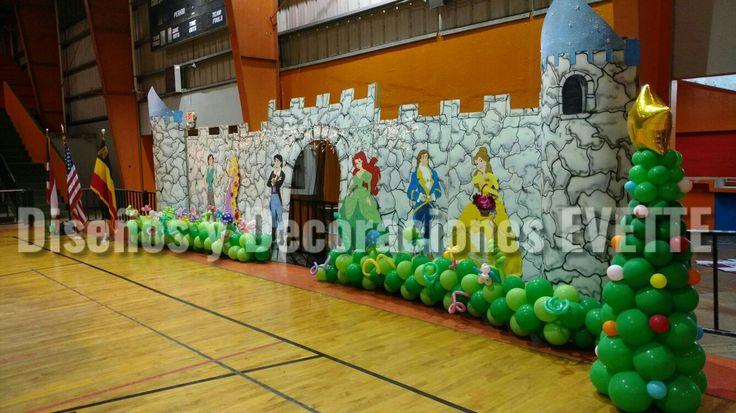 Decoraciones Evette Guayama Castillo de Princesas