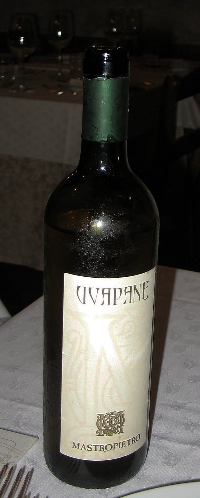 Uvapane White Wine - Excellent
