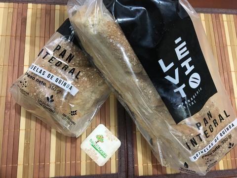 Pan de Integral con hojuelas de quinoa * 350 gr