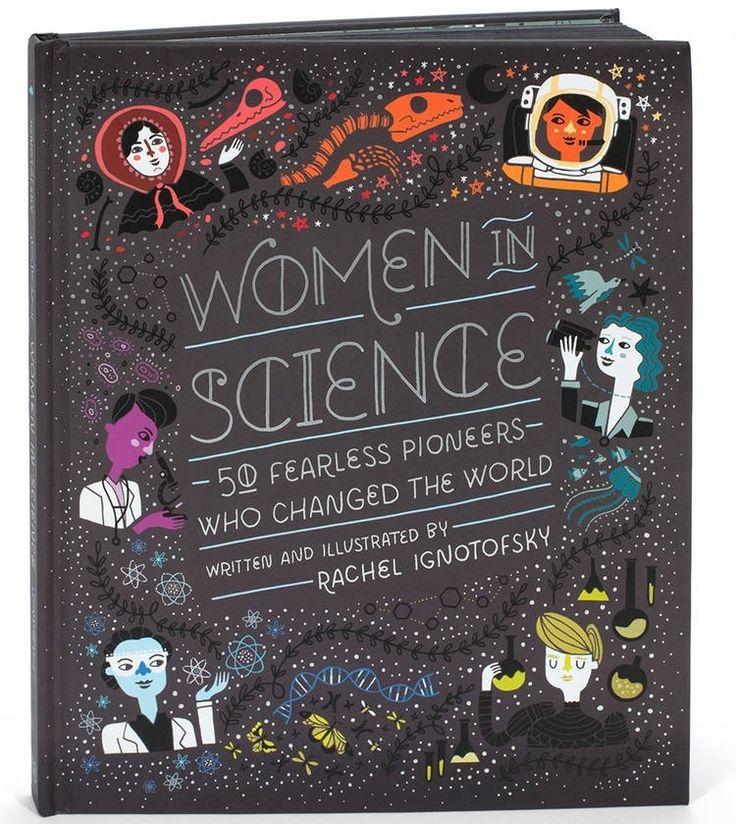 Mujeres en libro de tapa dura de la ciencia costumbre firmó