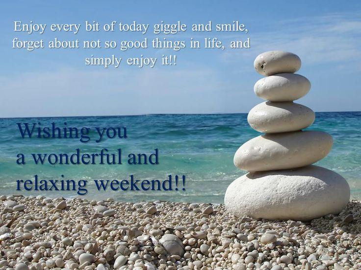 Wishing you a very fun filled Weekend!!