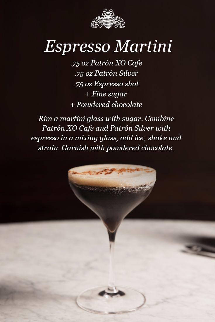 Espresso Martini Recipe CAFE Con LECHE Pinterest