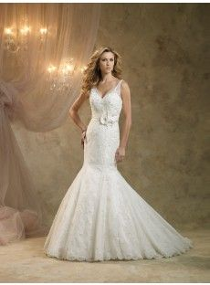 Lace Trumpet Mermaid Wedding Dress