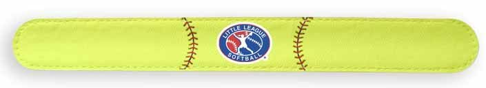 Little League Softball Slap Bracelet