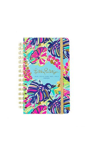 Lilly Pulitzer 2016-2017 Medium Agenda - Exotic Garden ---- I ordered this in a small. SO EXCITED!!