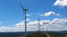 Cómo Uruguay logró ser el país con mayor porcentaje de energía eólica de América Latina -- Parque eólico en Uruguay