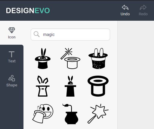 DesignEvo  Candy from PearlMountain got in touch recently and asked me to do a review ofDesignEvo. I don't often get asked to review software. I prefer to showcase stuff I find interesting as and when I find it myself but Candy asked nicely so here we go. DesignEvo is a very easy to use tool for creating vector logos. After a brief tutorial you are deposited on a blank 500 x 500 canvas with three tabs one the left hand side. Candy promises me professional looking logos in seconds and she…