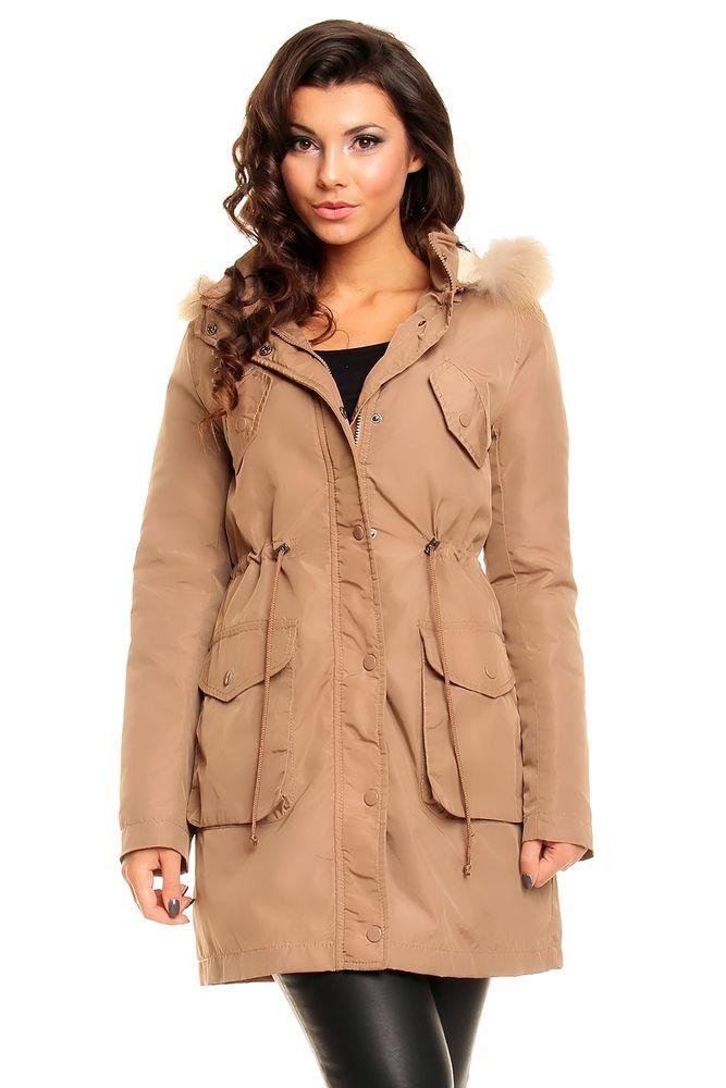 Mantel damen schwarz 40