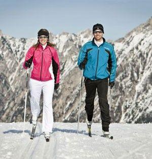 Беговые лыжи коньковый ход