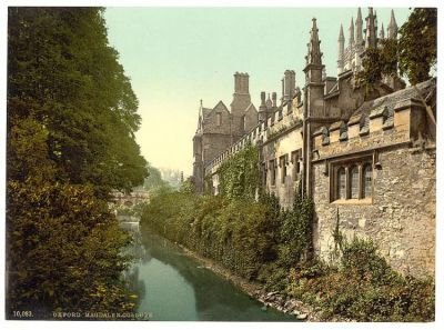 Miss this too much. Can I be transported back in time? Or teleported there and go punting tomorrow PM. Magdalen College, Oxford