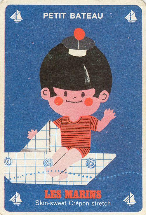 Petit Bateau | Les marins ✭ ancien jeu publicitaire // vintage kids game