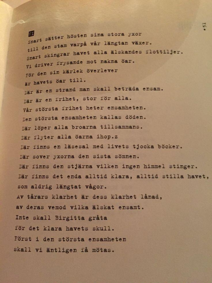 Stig Dagerman - Birgitta svit V