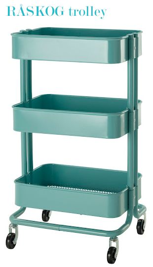 RÅSKOG Kitchen cart - IKEA ... want to get one for the