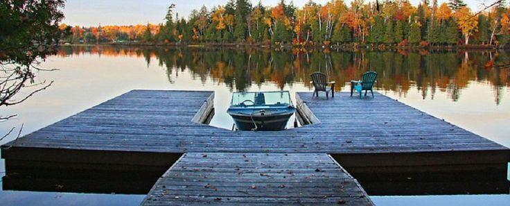 Luxury Cottage Rental Ontario, Muskoka, Parry Sound, Chalet, Executive Vacation Property   Lulu's Repose
