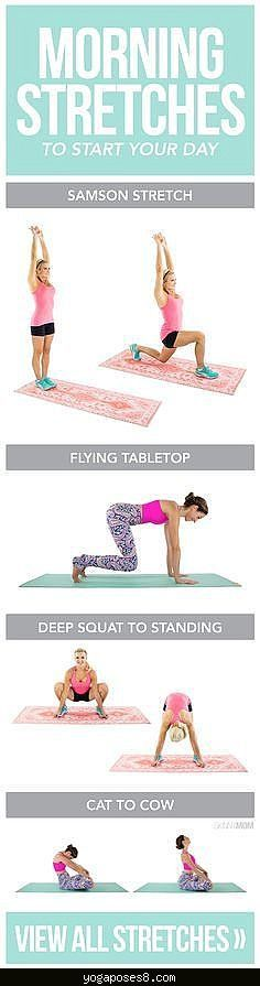 yogaposes8 Yoga Workout Plans on Pinterest | Morning Yoga Workouts, Fat ...