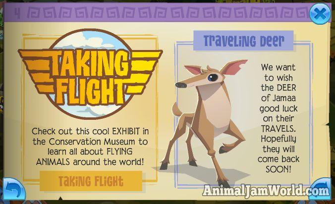 Falcons Have Landed in Jamaa! animal-jam-traveling-deer  #AnimalJam #Falcon #News http://www.animaljamworld.com/falcons-have-landed-in-jamaa/