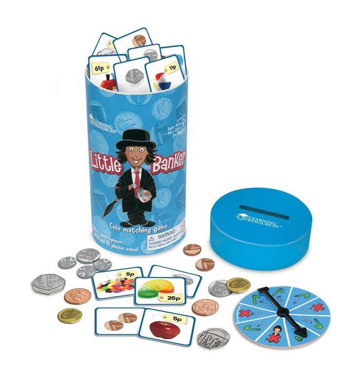 Learning Resources Little Banker Coin Matching Game | Maths Toys | Learning Resources Little Banker Coin Matching Game from BrightMinds UK