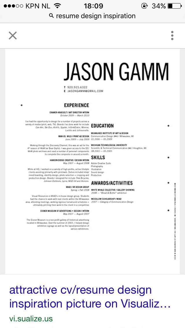 Best Cv Collection Images On   Resume Design Design