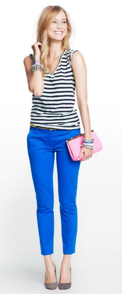 Jcrew love the pants, but i dont know if they are too bold!!