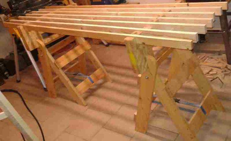 Arbeitsflächen Einsatz für Sägebock Bauanleitung zum selber...