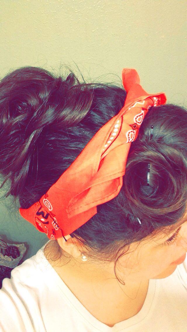 Rosie the Riveter Hair