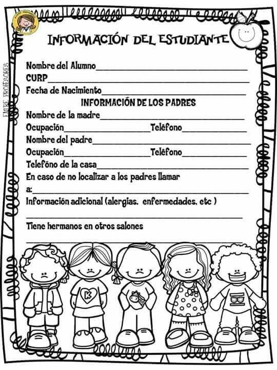 Información Niños