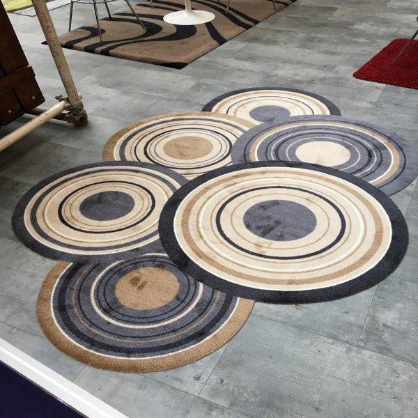 Fussmatte wash+dry Decor Cosmic Colours nature 70x120 cm Fußmatten waschbare Türvorleger