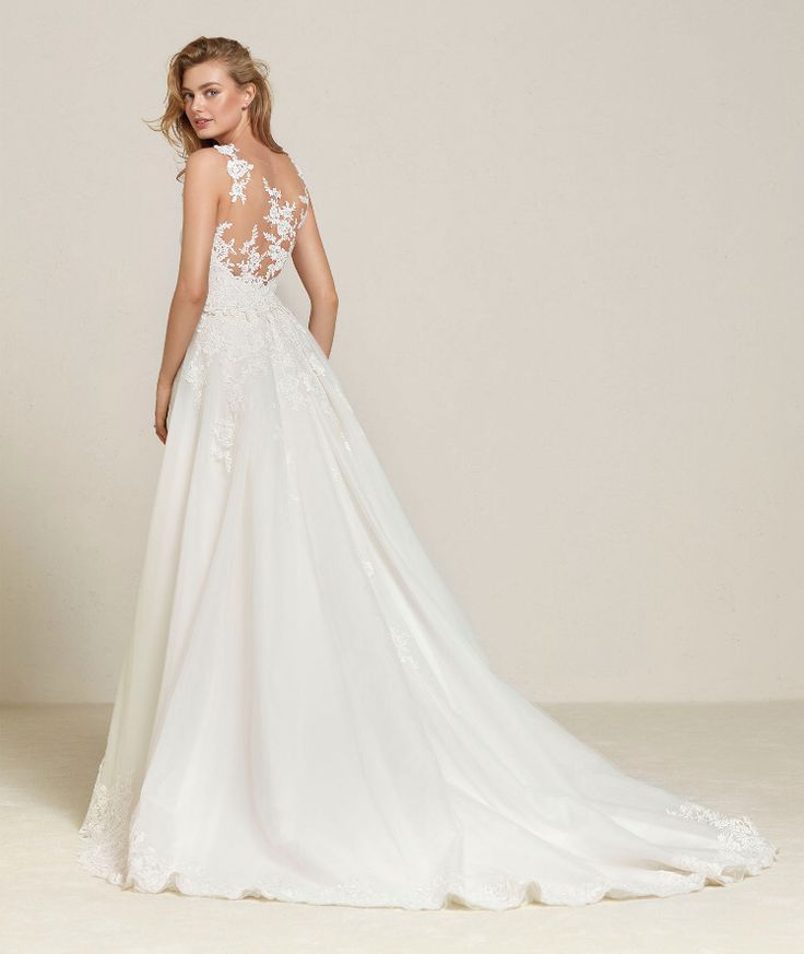 91 besten Pronovias Wedding Dresses Bilder auf Pinterest ...