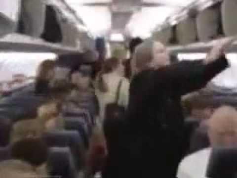 World's coolest flight attendant...I love this!
