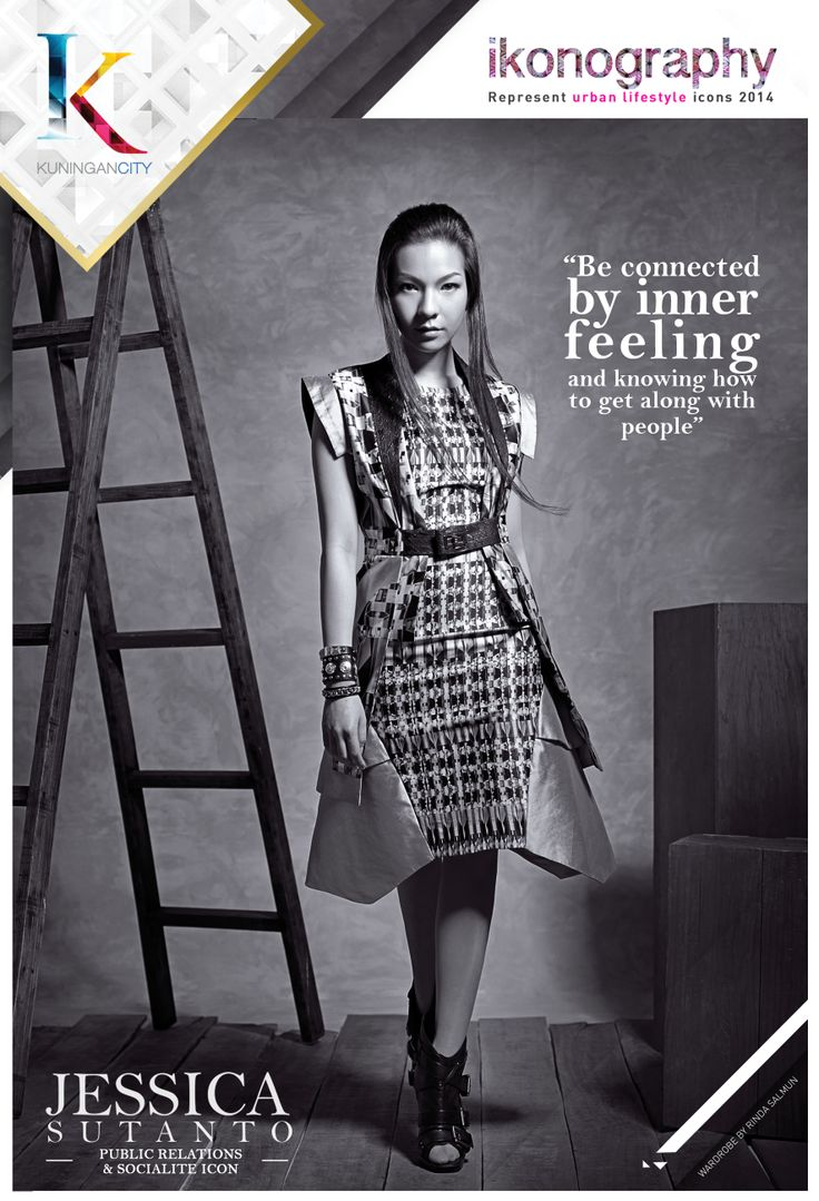 JESSICA SUTANTO - Public Relations & Socialite Icon for KUNINGAN CITY IKONOGRAPHY 2014