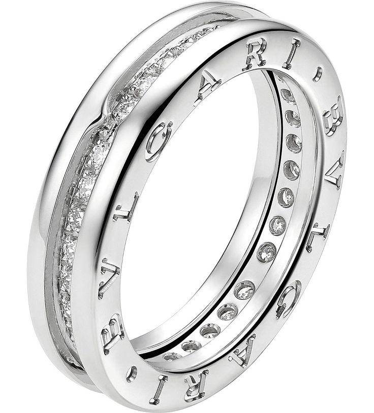 bzero1 18kt whitegold and pavdiamond ring