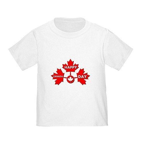 CafePress - canada day Toddler T-Shirt - Cute Toddler T-Shirt 100% Cotton