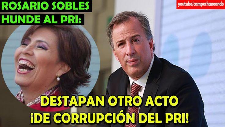 Rosario Robles HUNDE al Pri y a José Antonio Meade - Campechaneando
