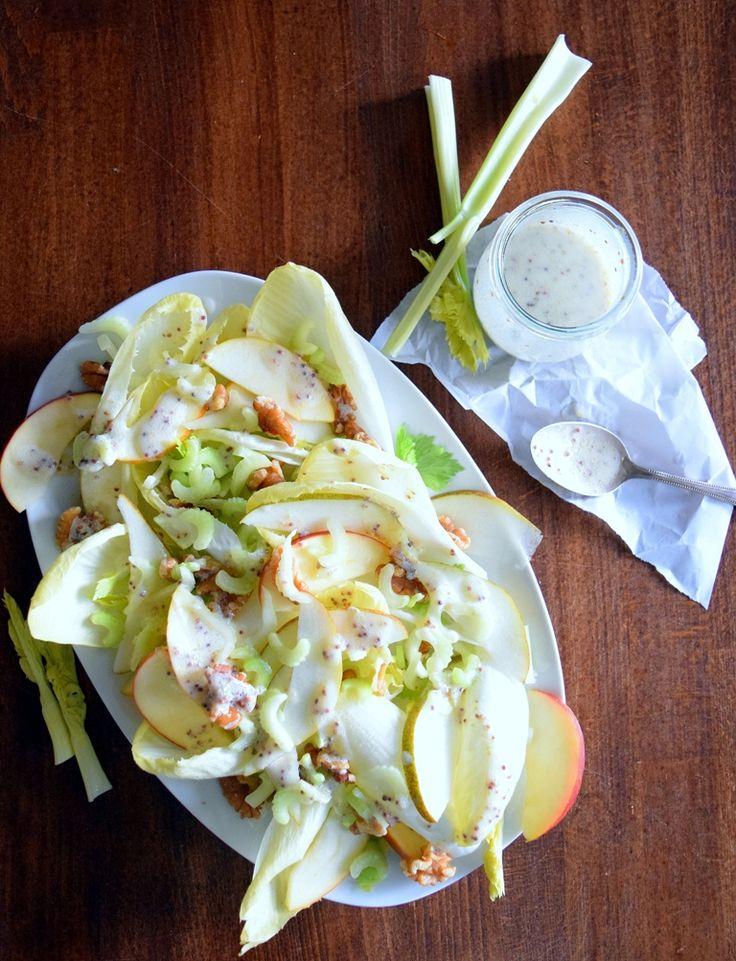 die besten 25 chicoree salat ideen auf pinterest chicoree salat rezept chicoree rezepte und. Black Bedroom Furniture Sets. Home Design Ideas