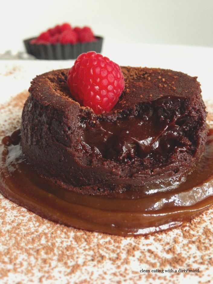 Chocolate Molten Lava Cake Dairy And Gluten Free
