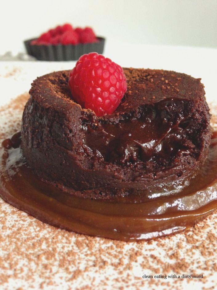 Gluten Free Dairy Free Molten Lava Cake