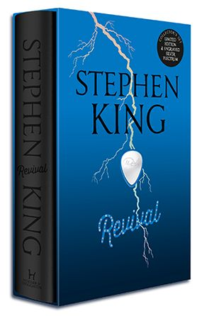 A wonderful limited-edition collector's set of Revival by Stephen King, with an engraved silver plectrum. Only 500 copies WORLDWIDE!