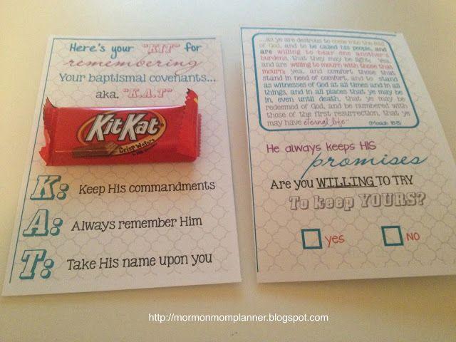 KitKat Baptismal Covenants - InTheLeafyTreetops.com