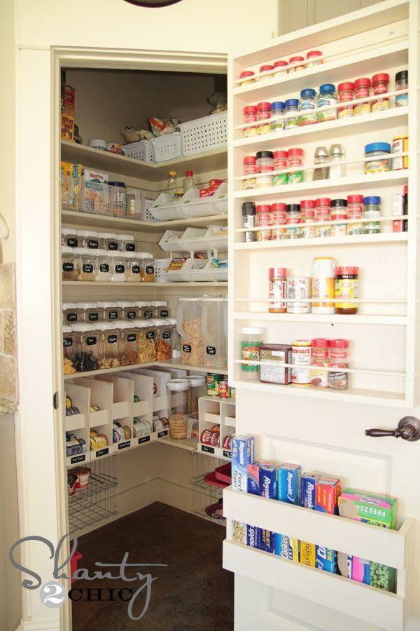 Pantry Organization by blanca