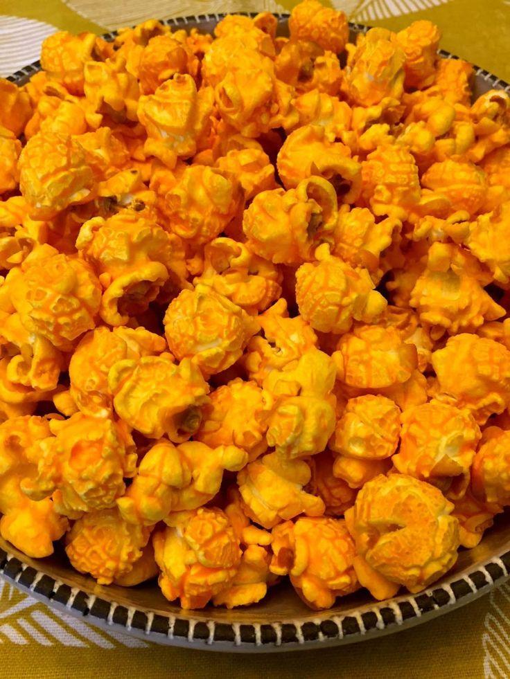 Homemade cheese popcorn recipe recipe cheese popcorn