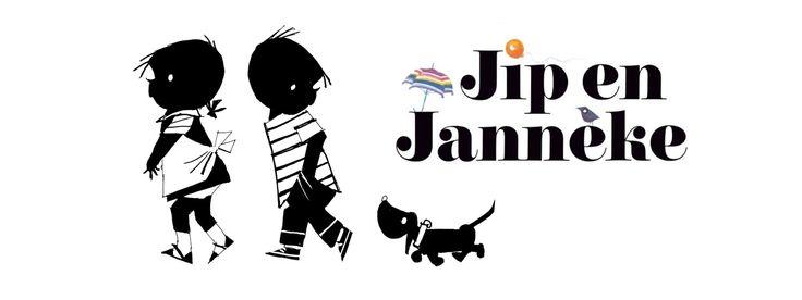 Jip en Janneke - zwart-wit illustraties van Fiep Westendorp