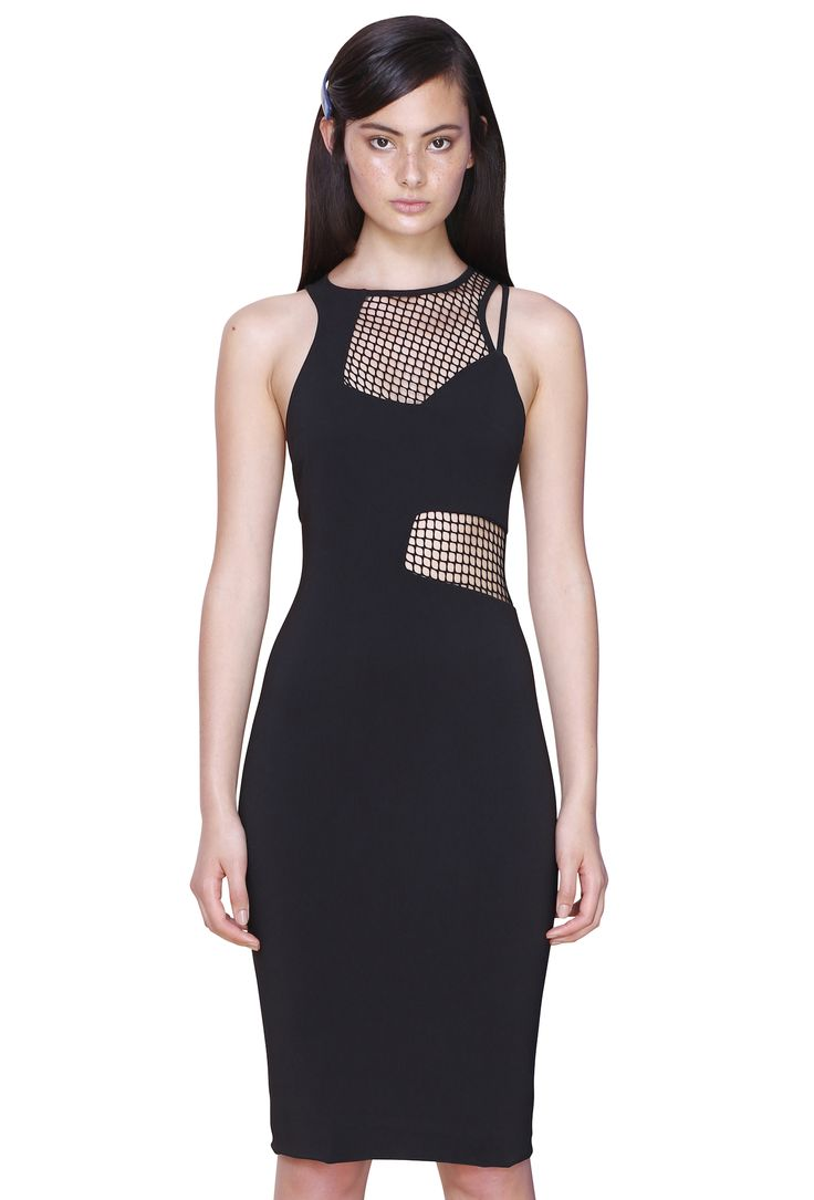 SUSPENDED LINE DRESS #byjohnny #abstrACTION #SPRING2015 #AUSTRALIANFASHION