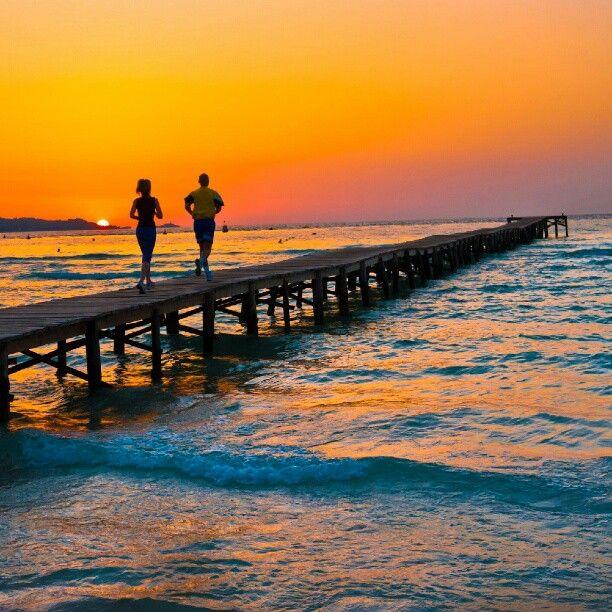Beautiful Sunrise in Alcudia Mallorca.....
