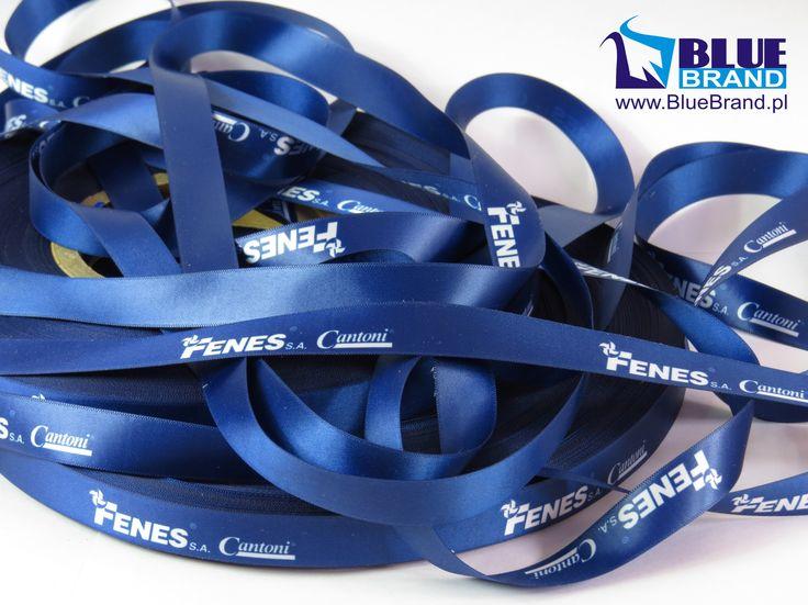 taśma ozdobna z logo firmy - projekt i wykonanie www.BlueBrand.pl #BlueBrand #AgencjaReklamowa #reklama