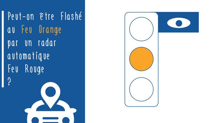 Peut-on être flashé au feu orange par un radar automatique ? www.legipermis.com