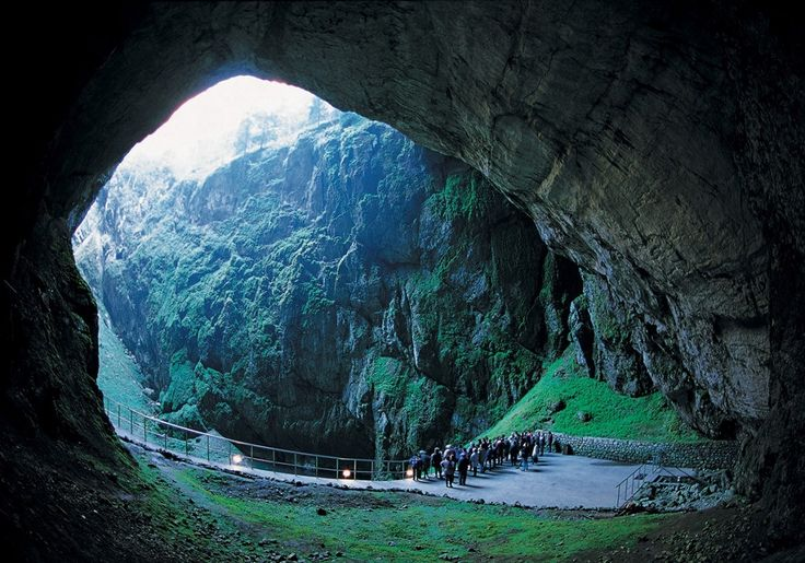 Situated inside the Moravian Hills, north from Brno, The Macocha cave (translated name: Step Mother, local name Punkva cave)