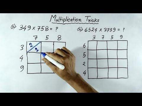 Fast Multiplication Tricks of any Numbers (In Hindi)   Multiplication shortcut Tricks - YouTube #learnmathfast #mathtricks